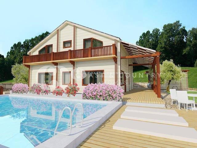 Alsancak'ta satılık bahçeli özel havuzlu villa, 292 m² - TEXT_photo 1