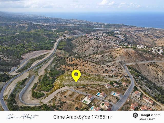 17800 m² Arapköy Anayolu Üzeri Ticari ve Konut İzinli Arazi