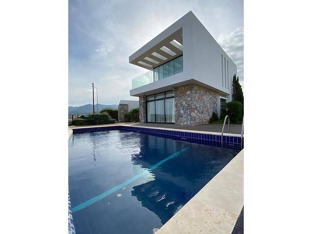 Girne Bahçeli'de satılık şömineli özel havuzlu 3+1 villa - TEXT_photo 5