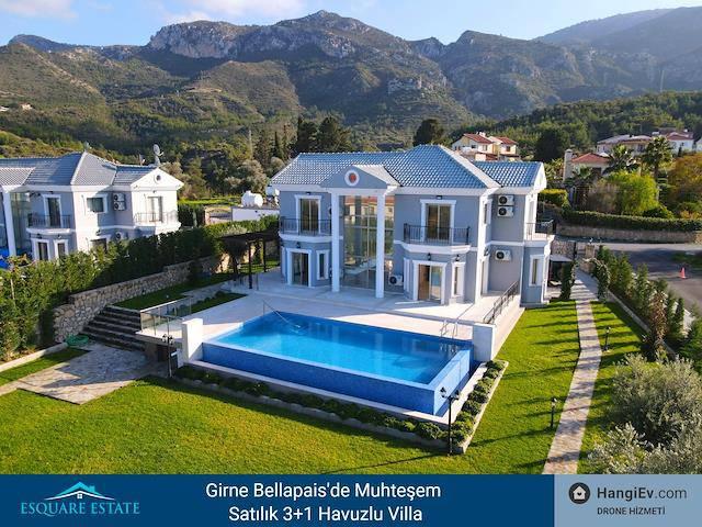 Girne Bellapais'de Muhteşem 3+1 Satılık Villa İk 010