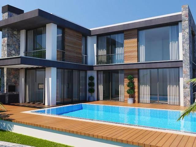 Girne/Çatalköyde Satılık 3+1 Lüks Villa