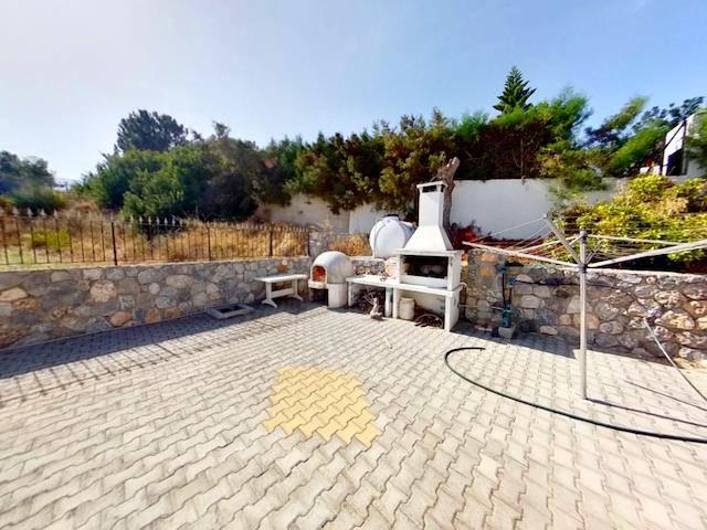 Girne Çatalköy'de satılık bahçeli şömineli villa - TEXT_photo 10