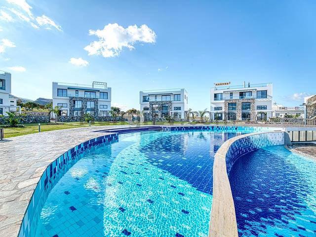 Girne Esentepe'de satılık bahçeli havuzlu daire - TEXT_photo 2
