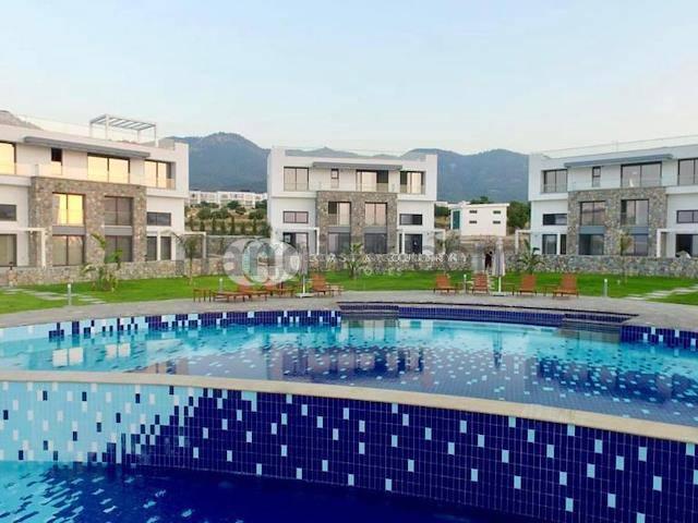 Girne Esentepe'de satılık bahçeli havuzlu daire - TEXT_photo 6