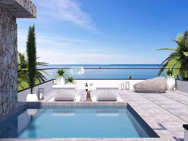Girne Esentepe'de satılık bahçeli özel havuzlu daire - TEXT_photo 1