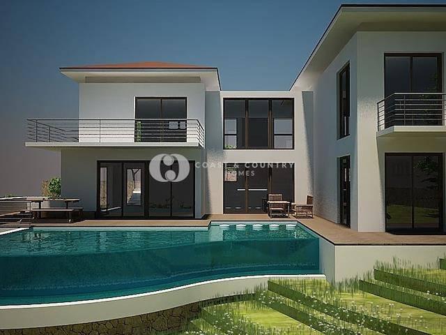 Girne Esentepe'de satılık bahçeli şömineli villa, 266 m² - TEXT_photo 1