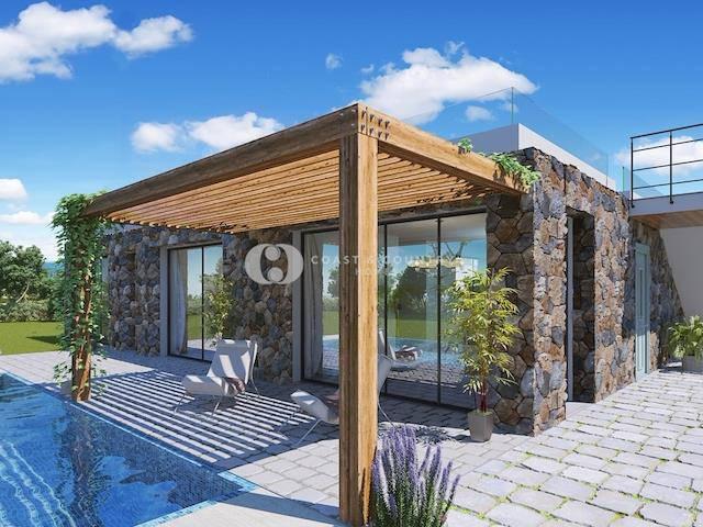 Girne Esentepe'de satılık bahçeli havuzlu villa - TEXT_photo 1