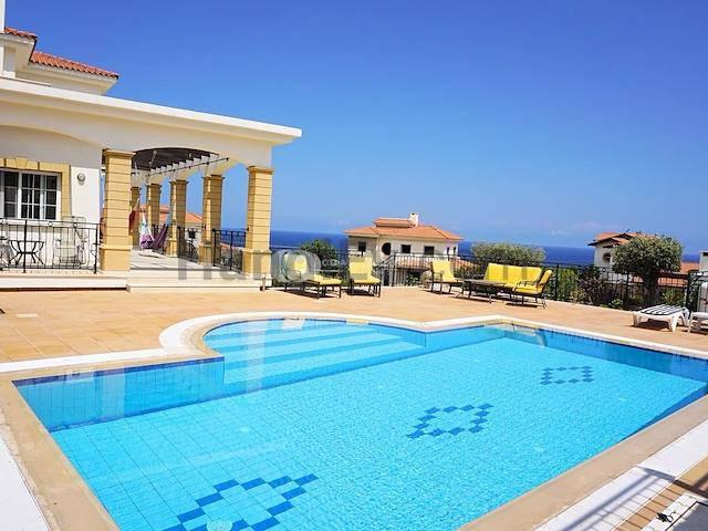 Girne Esentepe'de satılık şömineli havuzlu villa - TEXT_photo 3