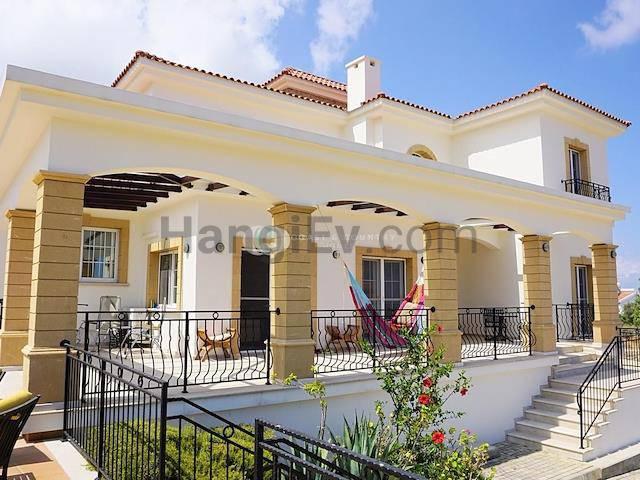 Girne Esentepe'de satılık şömineli havuzlu villa - TEXT_photo 4
