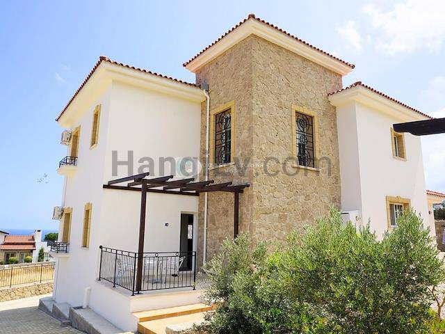 Girne Esentepe'de satılık şömineli havuzlu villa - TEXT_photo 5