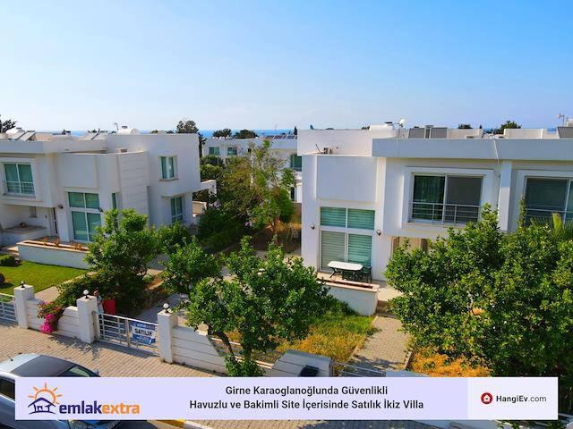 Girne Karaoğlanoğlu'da satılık havuzlu ikiz ev - TEXT_photo 10