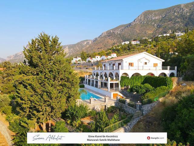 Girne Karmi'de satılık bahçeli şömineli özel havuzlu villa - TEXT_photo 7