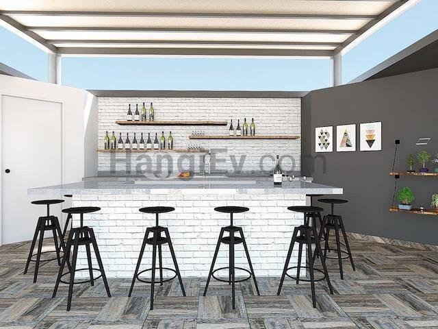 Girne Bölgesi'de satılık şömineli asansörlü havuzlu daire, 130 m² - TEXT_photo 6