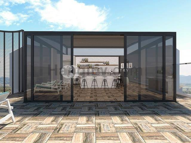 Girne Bölgesi'de satılık şömineli asansörlü havuzlu daire, 130 m² - TEXT_photo 7