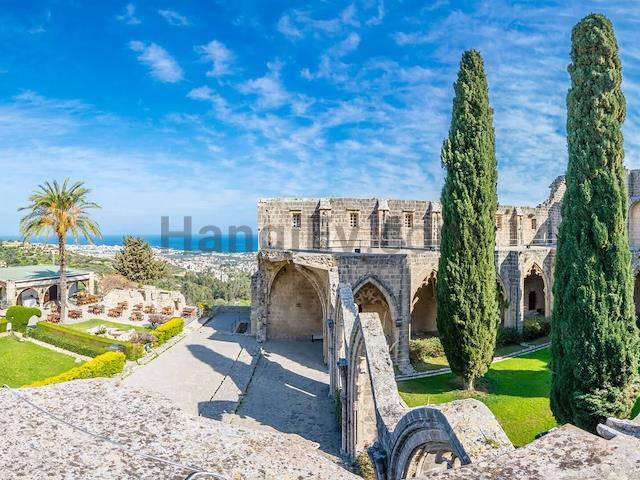 Girne Ozanköy'de satılık bahçeli şömineli havuzlu villa - TEXT_photo 5