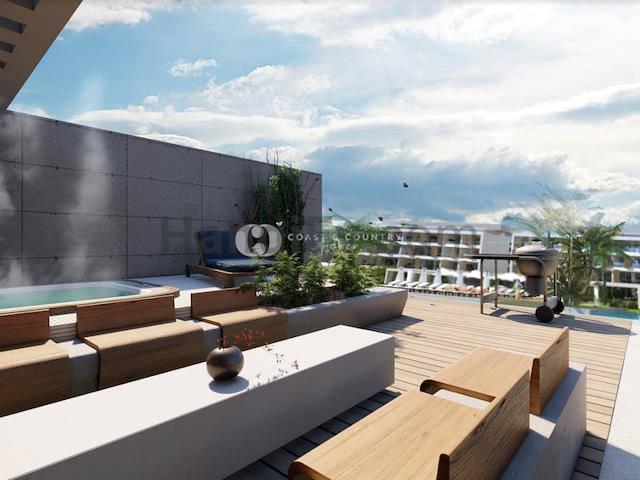 İskele Long Beach'ta satılık bahçeli asansörlü havuzlu daire - TEXT_photo 3