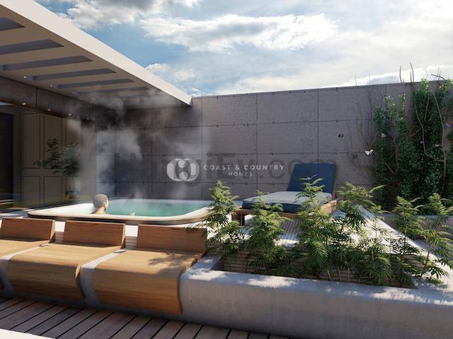 İskele Long Beach'ta satılık bahçeli asansörlü havuzlu daire - TEXT_photo 8