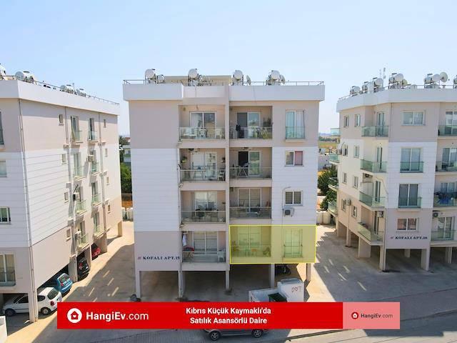 Kıbrıs Küçük Kaymaklı'da Satılık Asansörlü Daire, 85 m² £45.900