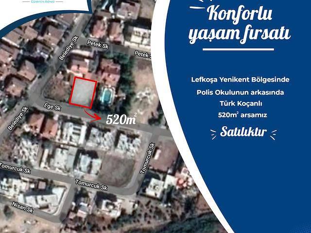 Yenikent Bölgesinde (Polis Okulu Arkası) Villalık Arsa.