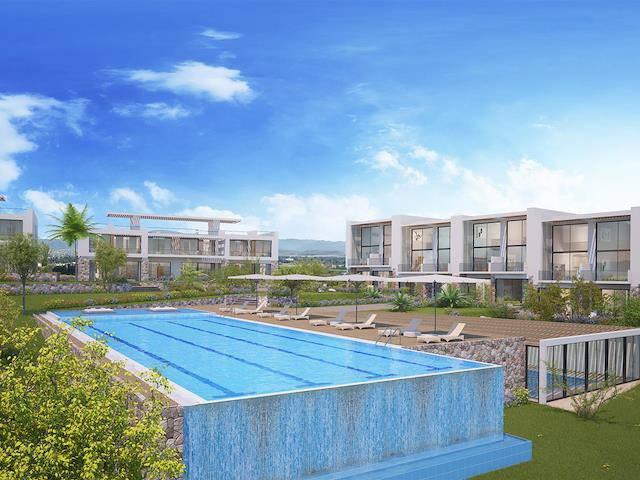 Kıbrıs Mağusa Tatlısu'da satılık havuzlu daire